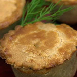 Hand raised pies