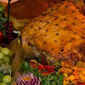 Whole ham Buffet
