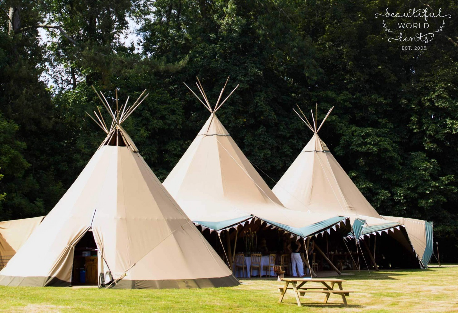 tipis hire sussex